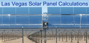 Las Vegas Solar energy Production