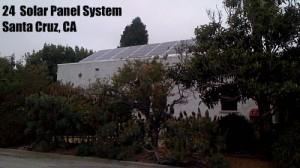 24 Electric Solar Panels System