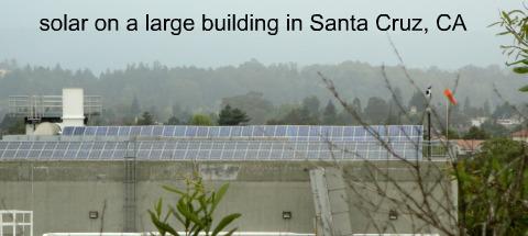 municipal solar system