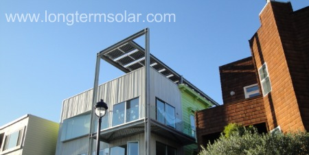 3.5 kw solar system above roof
