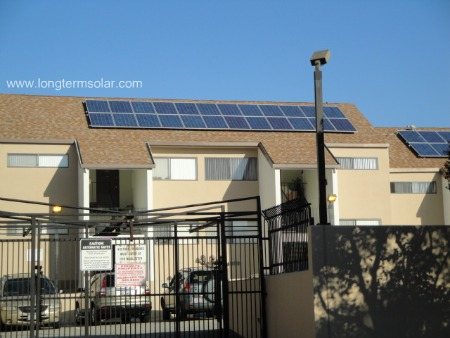PV solar apartment buildings