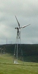 30 ft. wind turbine