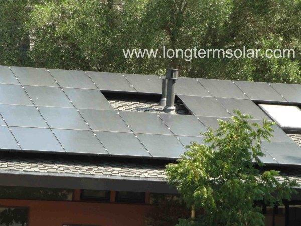 church solar roof