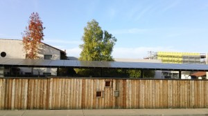 large Sunpower solar panel system