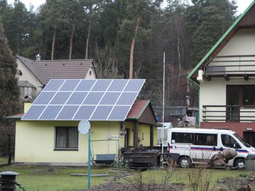 18 solar panels