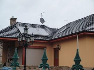 solar hot water Czech Republic